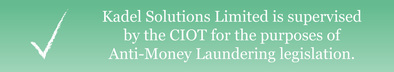 Kadel Solutions Limited is supervised by the CIOT for the purposes of Anti-Money Laundering legislation.